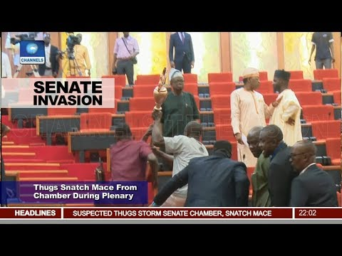 Thugs Snatch Mace From Chamber During Plenary Pt.1 |News@10| 18/04/18