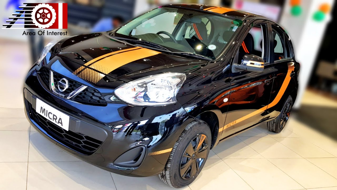Nissan Micra Fashion Edition Cvt Automatic Special Edition Price Mileage Features Black Youtube