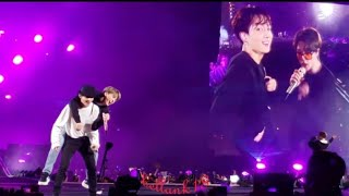 190519 (Anpanman(Suga Twerk) + So What (TaeJin piggyback 🐷) BTS 'Speak Yourself Tour' Metlife Day 2
