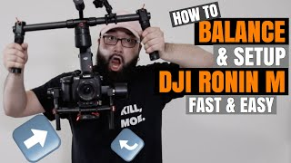 Gambar cover How To Balance The DJI Ronin-M Fast & Easy (Step By Step Tutorial With GH5)