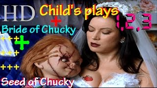★BEST FUNNY CLIPS FROM ALL CHUCKY MOVIES*