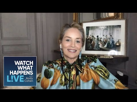 Sharon Stone's Best On-Screen Kiss was Robert De Niro | WWHL