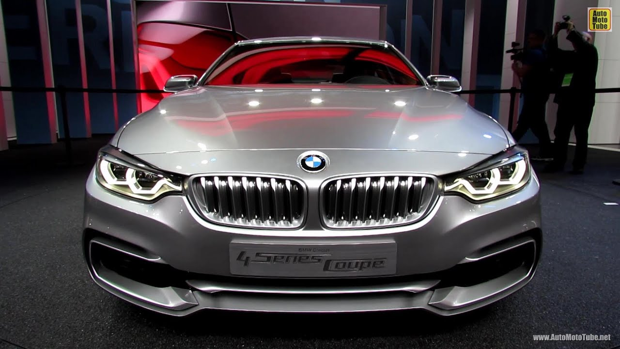 2015 bmw 4 series coupe exterior and interior walkaround debut at 2013 detroit auto show. Black Bedroom Furniture Sets. Home Design Ideas