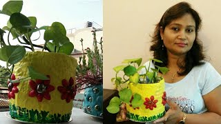 DIY ideas,do it yourself, plant pot diy,planter,anvesha,s creativity
