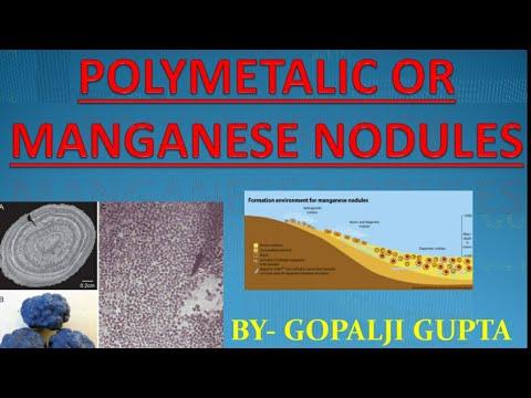 POLYMETALLIC/MANGANESE NODULES