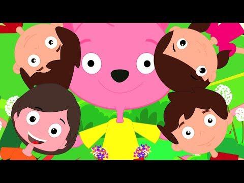 Ringa Ringa rosas | Rimas de berçário para crianças | pré-escolares canções | Songs For Kids
