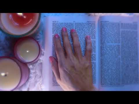 Soft Spoken Bible reading for sleep. Acts Ch 17-18