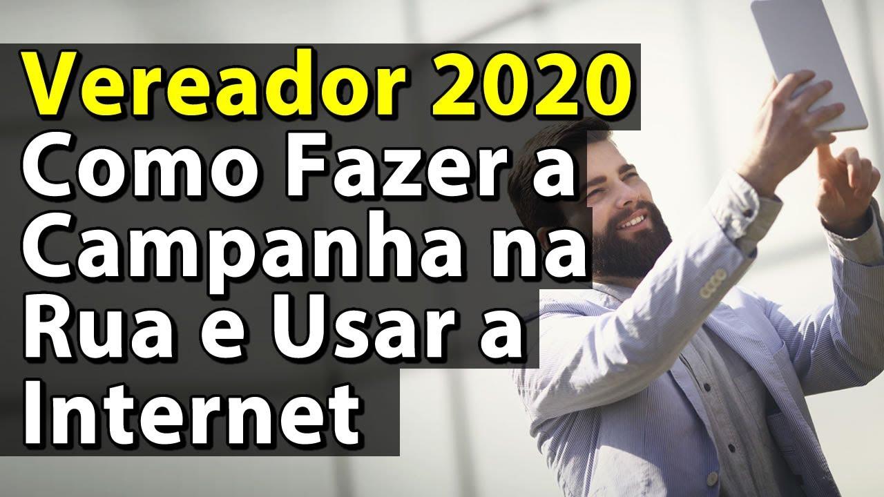 Vereador 2020 Como Fazer a Campanha na Rua e Usar a Internet | Anderson Alves