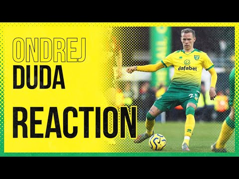 Norwich City 1-0 A.F.C. Bournemouth | Ondrej Duda Reaction