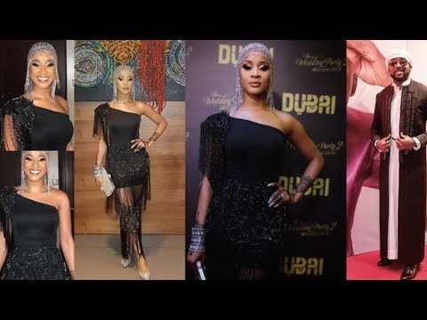 "The Wedding Party 2"" Premiere In Lagos (Arabian Themed) - Nollywood Movies"