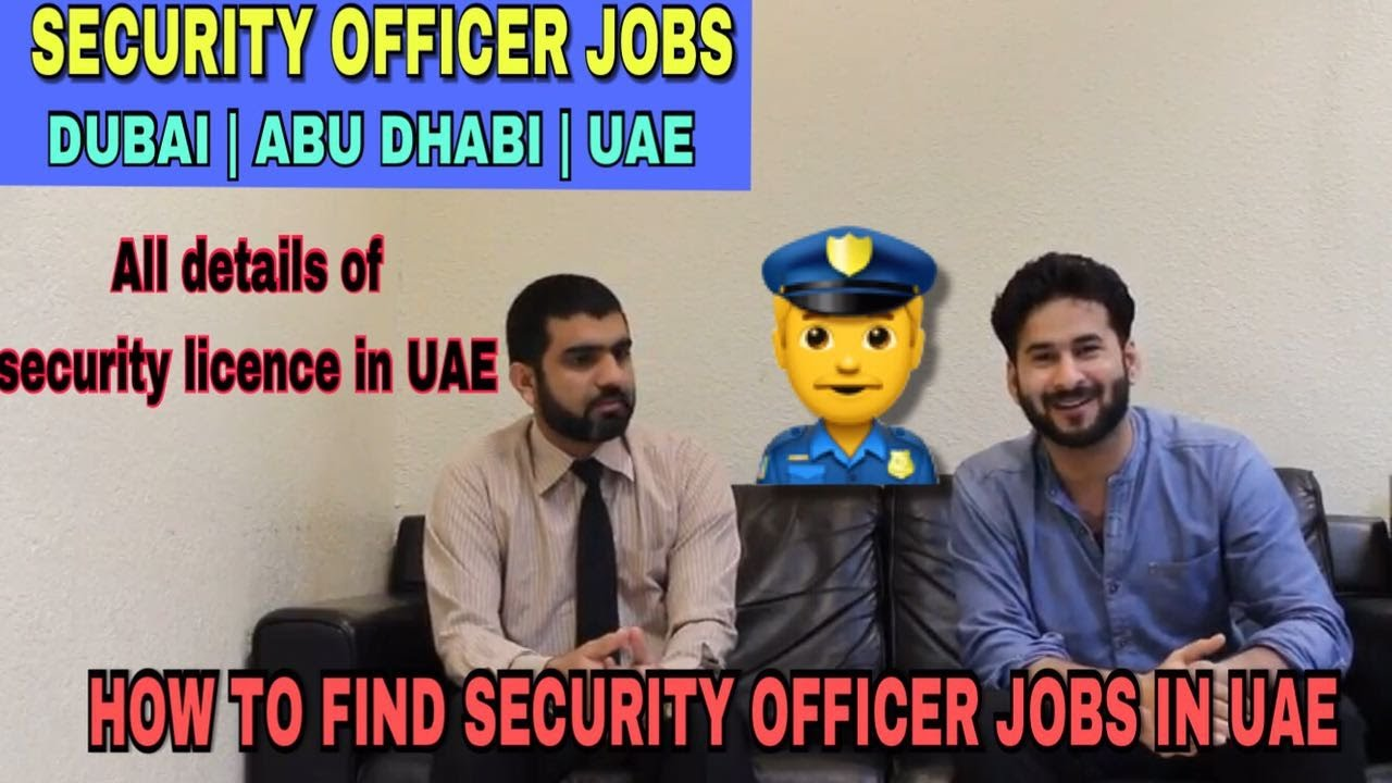 Find Security Jobs