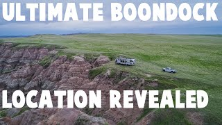 Top Secret Badlands Soขth Dakota Boondocking Spot!