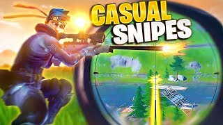 EASIEST 242 METER SNIPE W/ NATE HILL (Fortnite: Battle Royale)