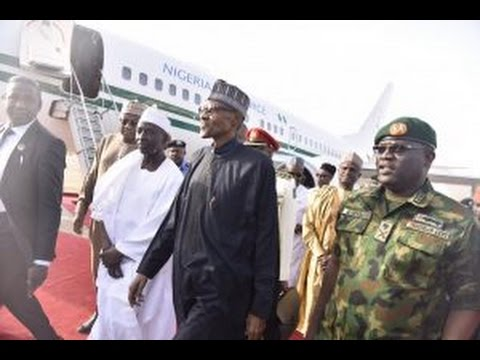 Video of President Muhammadu Buhari Arrival From London