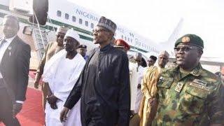 Video of President Muhammadu Buhari Arrival From London