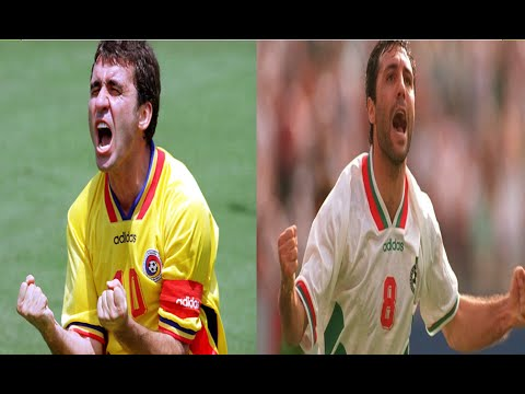Gheorghe Hagi Vs Hristo Stoichkov | Skills, Assists & Goals | Who Was The Best?