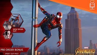 Iron Spider Suit Leaked & How Will it Play Spider-Man PS4