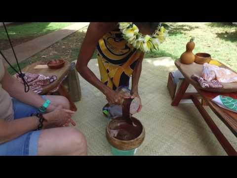 Learn about Poi Pounding at Maui Nei Hawaiian Cultural Tours