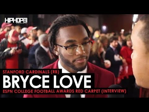 Bryce Love Talks The Hesiman Trophy, Stanford Football, Coach David Shaw & More