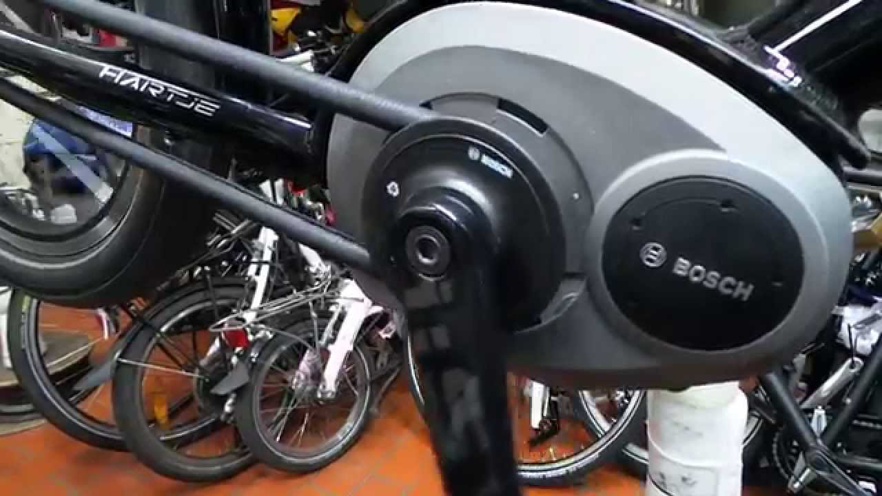 Bosch e bike motor youtube for E bike bosch motor