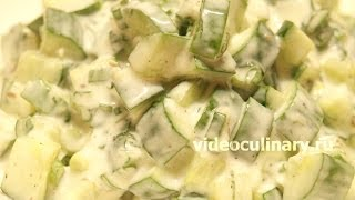 Огуречный салат с йогуртом - Рецепт Бабушки Эммы