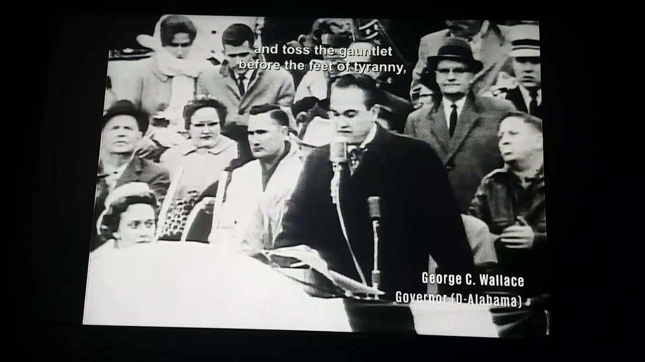 segregation now segregation forever speech