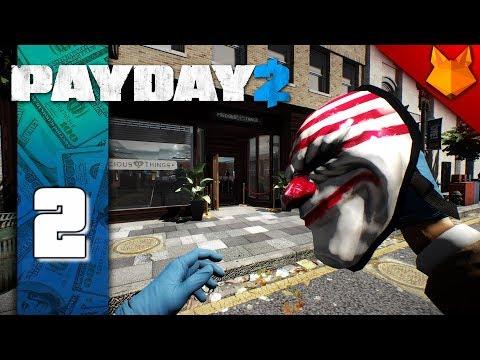 PAYDAY 2 | #2 | Zhouba Zlatnictví | JEWELRY STORE & UKRAINIAN JOB | Český Let's Play / Gameplay