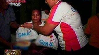 24 Oras:  Isang buong barangay Sa bayan Ng Bae Sa Laguna, mistulang water world pa rin