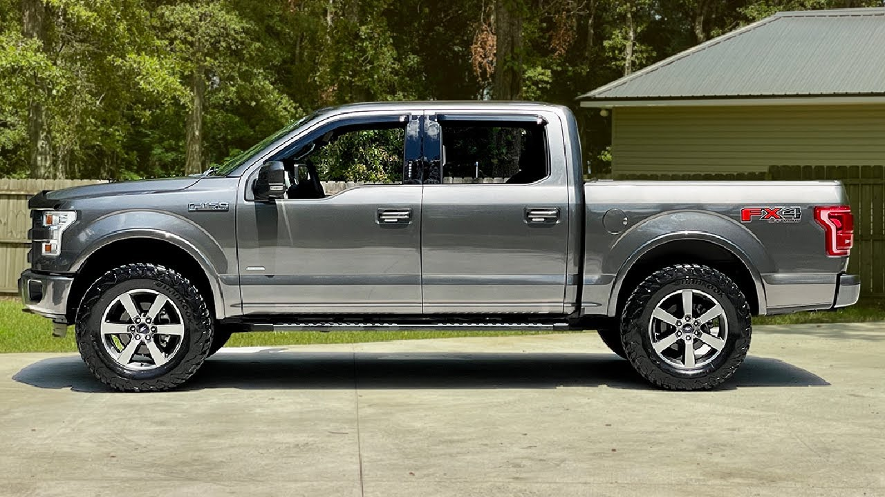Download KEEP IT CLASSY ON 35's / No cutting, No rubbing / Level Only F150
