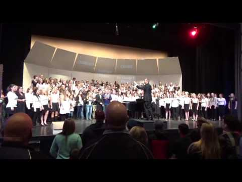 Moses Lake High School choir 2016