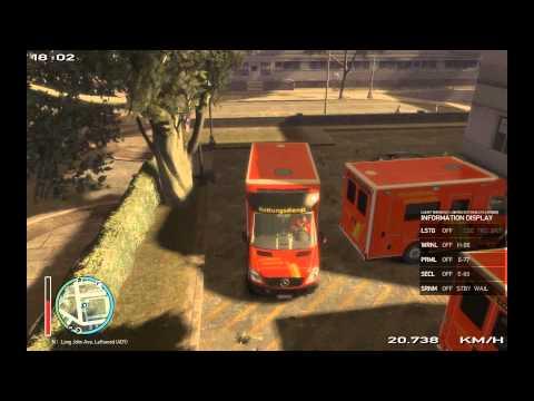 GTA 4 Rettungsdienst/Ambulance Responders Tag/Day 4 RTW FW Hannover