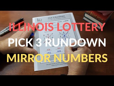 Pick 3 Rundown With Mirror Numbers For The Illinois Lottery