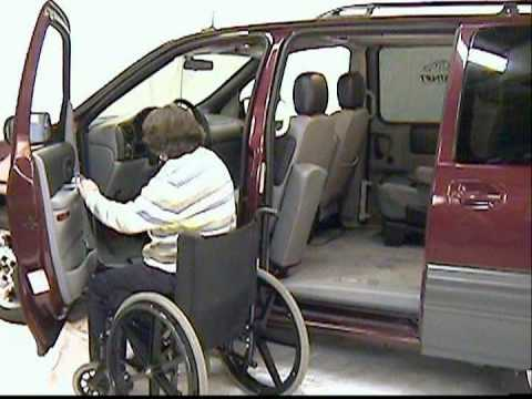Wheelchair Lift Cost Turquoise Chair Cushion Access Alternative: The Glide 'n Go (wheelchair Vans, Trucks And Suv/4x4's ...