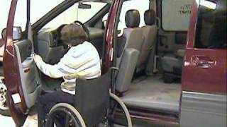Wheelchair Access Alternative: The Glide 'n Go (Wheelchair lift vans, trucks and SUV/4x4's)