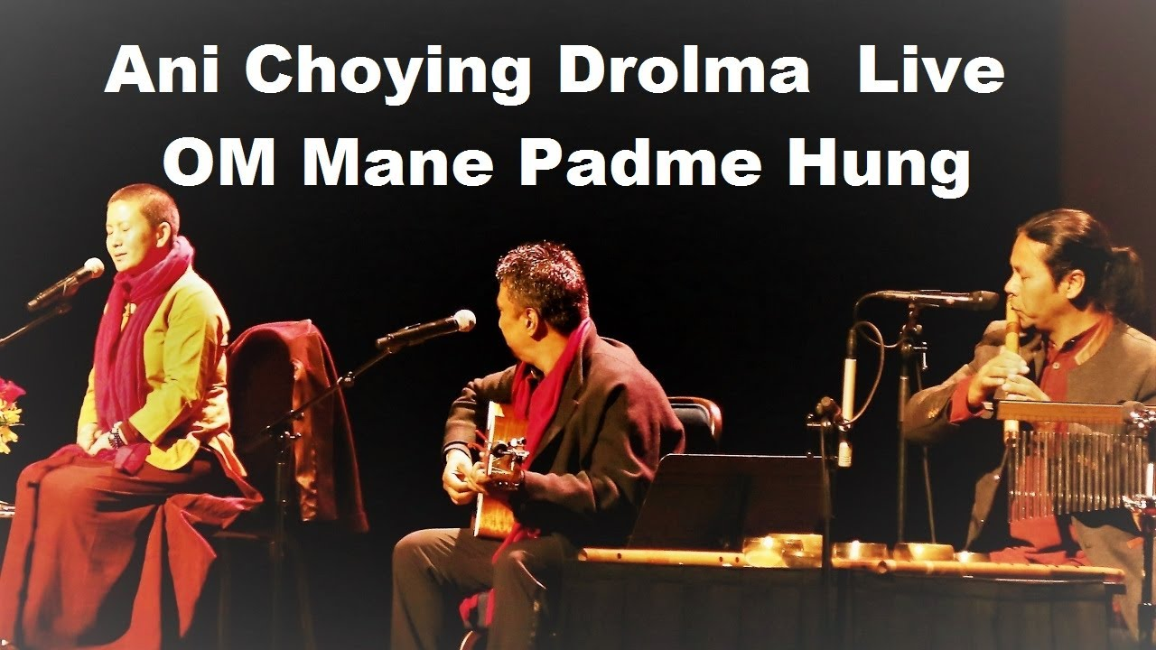 Ani Choying Dolma Live  in Taiwan / Om Mane Padme Hung / with Raman Maharjan and Gopal