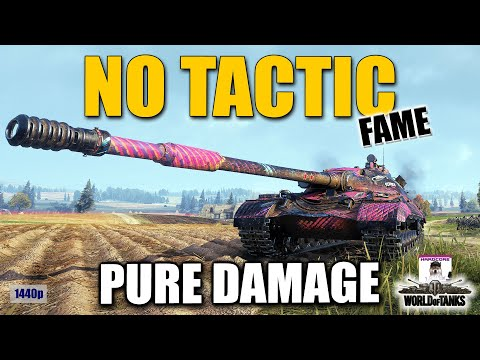 No tactics just damage,[ANRXS], [FAME], best World of Tanks games