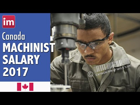 Machinist Salary in Canada | Jobs in Canada (2017)
