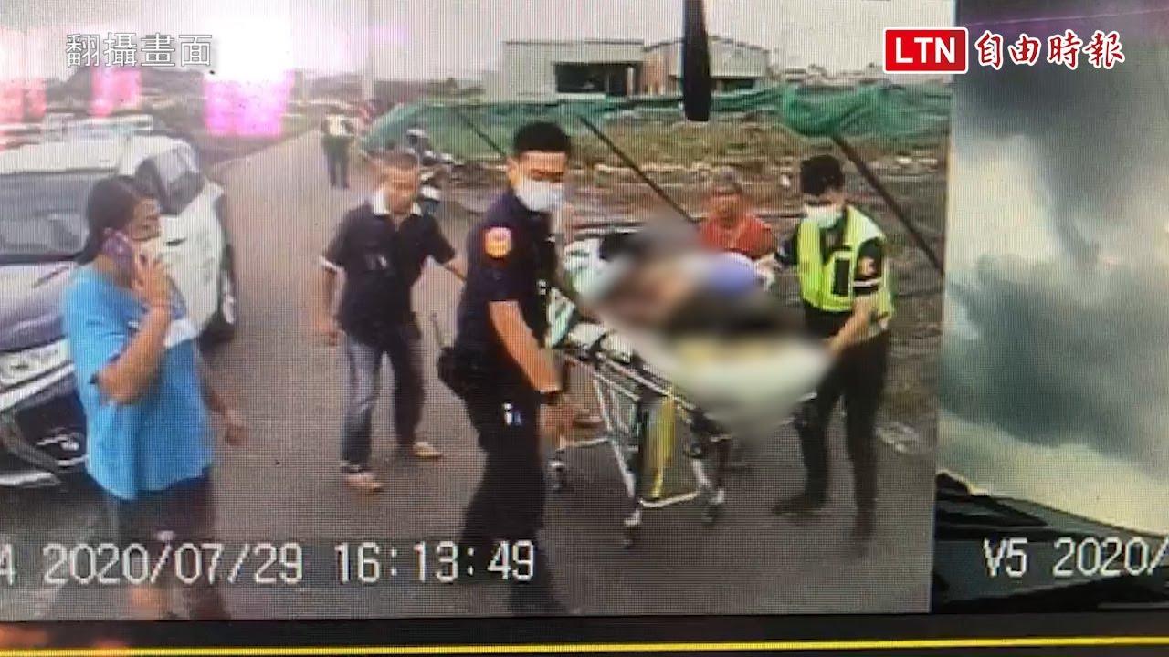 南投稻農遭雷殛身體焦黑 搶救3天不治留下年邁雙親 (翻攝畫面)