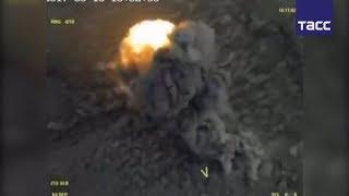 ВКС РФ уничтожили боевую технику террористов у города Акербат в Сирии