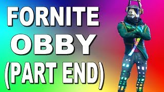 ACTUALLY FINISHED!!! (Fortnite Obby End) | ROBLOX Tagalog |