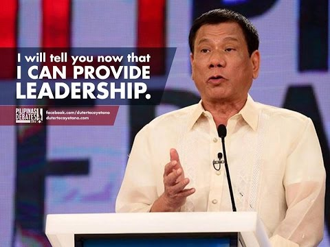RODRIGO DUTERTE IS THE BEST PRESIDENT IN THE WORLD