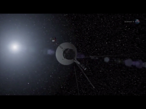 Voyager 1 at The Final Frontier - Heliosphere - Science at NASA