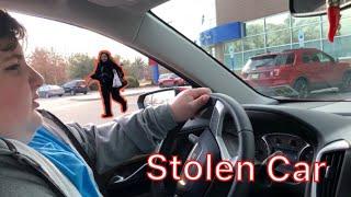 Fat Kid Steals His Moms Car