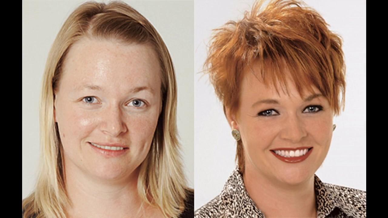Trendige Frisuren Vorher Nachher Frisuren YouTube