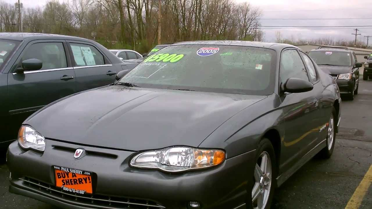Elegant 2005 Chevrolet Monte Carlo Supercharged SS Coupe For Sale Grey For Sale  Dayton Ohio   CP13340   YouTube