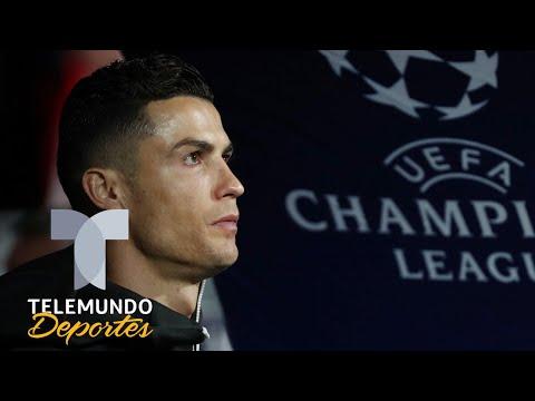 Así trataron a Cristiano Ronaldo en su regreso a Madrid por la Champions | Telemundo Deportes