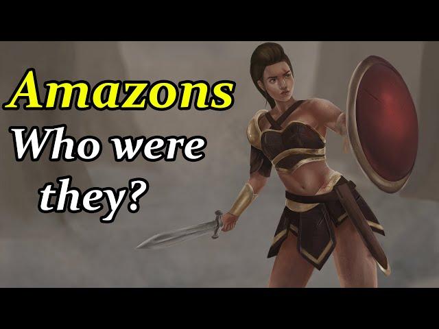 Amazons - The Most Feared Warrior Women of Greek Mythology (Greek Mythology Explained)