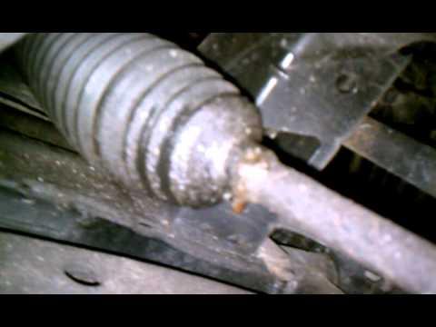 Power Steering Rack Leak Youtube
