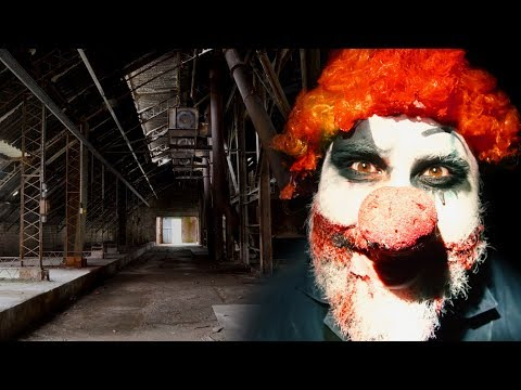 Extreme HIDE & SEEK with a CLOWN (In an ABANDONED FACTORY)