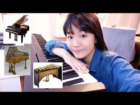 Scarlatti on Piano, Harpsichord or Vibraphone??  Tiffany Vlogs #23